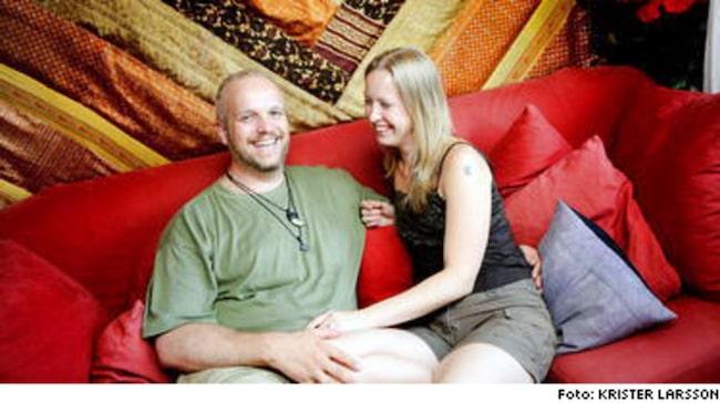 Calle och Jennie ägnar sig år Kama Sutra-sex, bland annat.