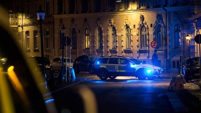 Två män begärs häktade för attacken mot synagogan i Göteborg i lördags. Foto: HENRIK JANSSON