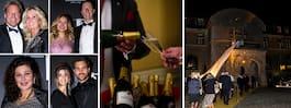Här festar 350 miljonärer på  slott: