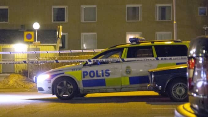 En man med rullator mördades på öppen gata i Filipstad. Foto: Christoffer Tuulik