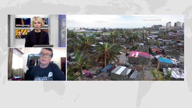 Experterna fruktar en ny katastrof i Moçambique efter cyklonen