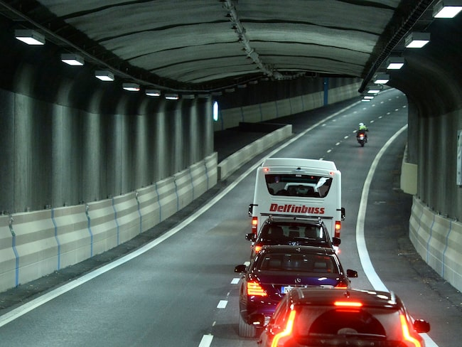 Norra länken är en av tunnlarna som är först ut med de nya specialanpassade kamerorna.