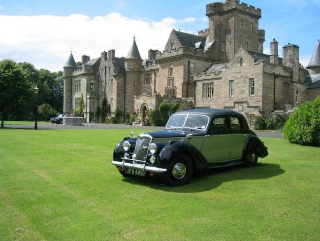 <span>Glenapp Castle ligger på Skottlands södra västkust.</span>