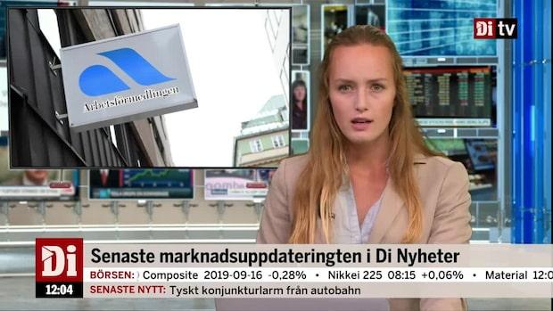Di Nyheter - arbetslösheten steg för andra månaden i rad
