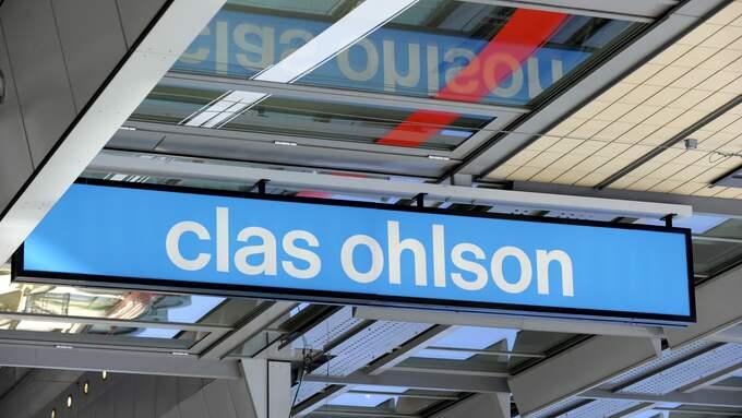 Clas Ohlsons försäljning ökade i oktober. Foto: Janerik Henriksson / TT NYHETSBYRÅN