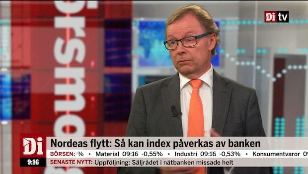Nordeas flytt: Då kan index påverkad av banken