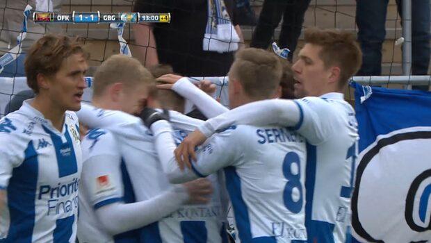 Otroligt drama när IFK Göteborg räddar poäng mot Östersund
