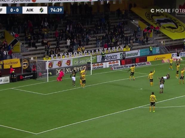 AIK tar ledningen – Levi kvitterar för Elfsborg