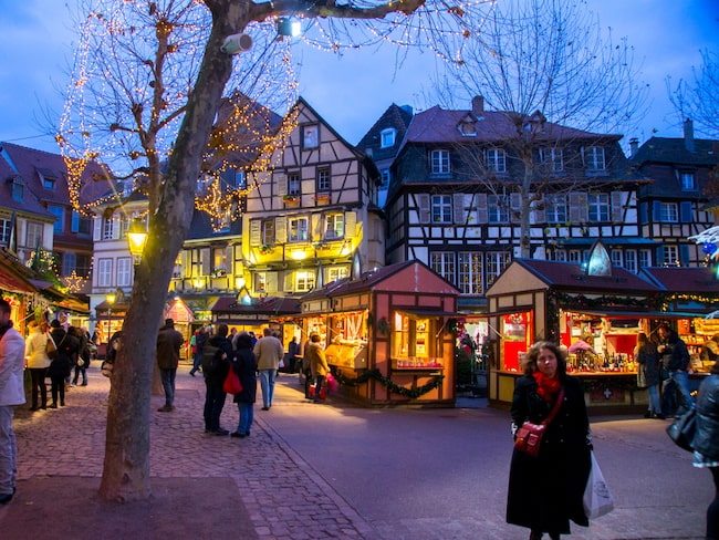Med en radie av ett par mil runt vindistriktets huvudstad Colmar hittar man de mest namnkunniga vingårdarna i Alsace.