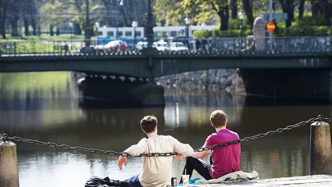 Valborg däremot, nästa veckoslut, kan bjuda på sol och högre temperaturer. Foto: ROBIN ARON