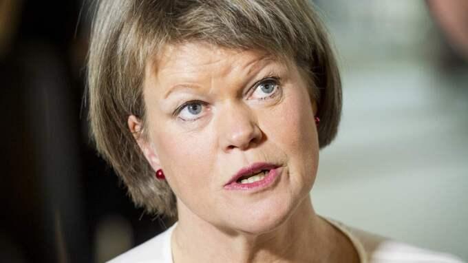 Ulla Andersson (V) tycker att ränteavdragen är ett omvänt Robin Hood-system. Foto: Jens L'Estrade