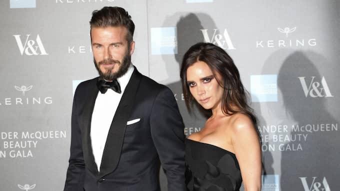 Victoria Beckham och David Beckham. Foto: Imago Sportfotodienst / IMAGO/FUTURE IMAGE IMAGO SPORTFOTODIENST