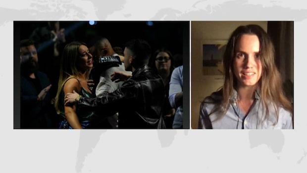 """Maria Brander om vinnaren i Mello: """"Något av en skräll"""""""