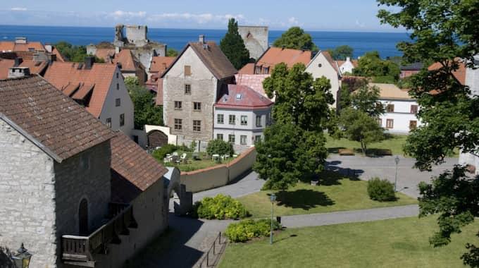 Visby, Gotland. Foto: Johanna Lundholm