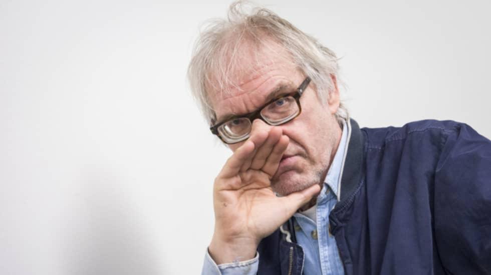 VATTENDELARE. Konstnären Lars Vilks har blivit projektionsyta för både radikala islamister och högerextremister. Foto: Tomas Leprince