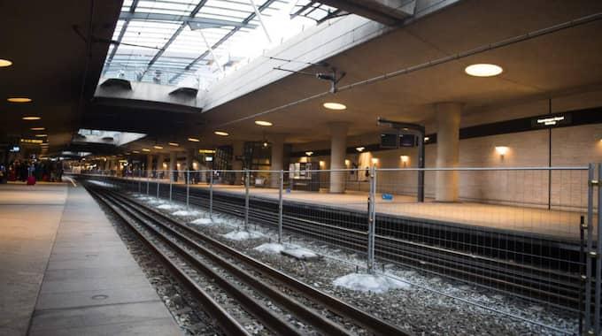 Tågstationen på Kastrup. Foto: Tomas Leprince