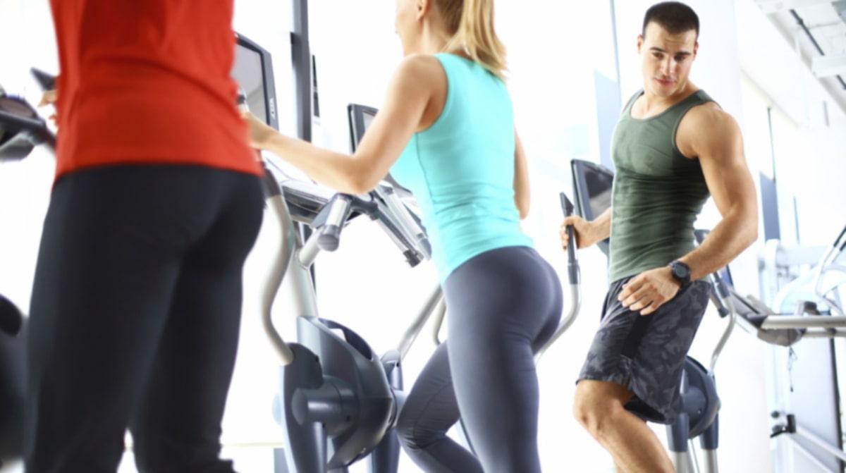 sex på gymmet