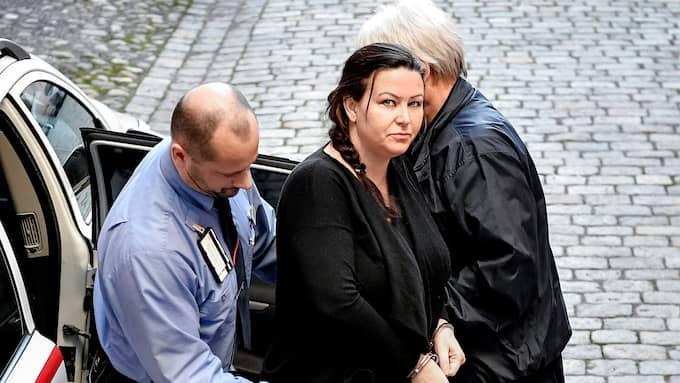 Arbogakvinnan Johanna Möller friades i hovrätten för mordet på sin före detta make Aki Paasila. Foto: ALEX LJUNGDAHL