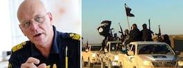 Polisen saknar plan för hemvändande IS-krigare