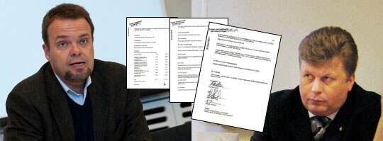 Nu föreslås före detta M-politikern Sven Otto Littorin en plats i styrelsen för Wiking Mineral AB - ett bolag som startats av högerextremisten Patrik Brinkmann. Littorin har skrivit under på dokumenten. Foto: Scanpix