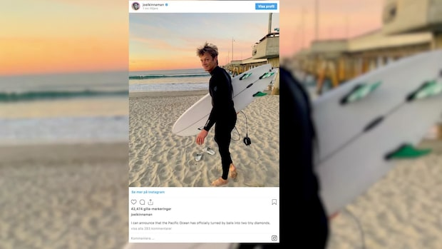 Joel Kinnamans intima avslöjande på Instagram