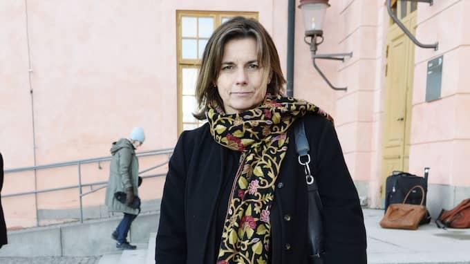 Klimatminister Isabella Lövin (MP) är nöjd över att Sverige enligt en ny mätning leder EU-ländernas resa för att uppnå målen i klimatuppgörelsen i Paris. Foto: Olle Sporrong