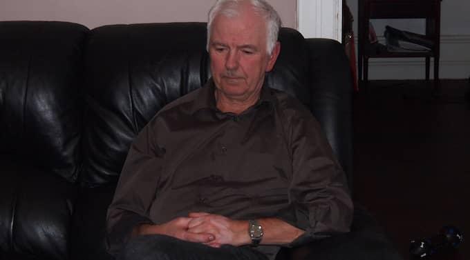 Per-Erik Jonsson, 63, blev medvetslös på Ryanair-planet - då erbjöds han en macka. Foto: Privat