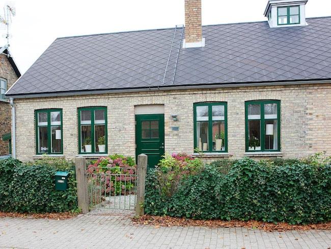 Villan i skånska Lomma har totalrenoverats.