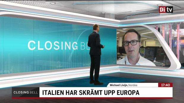 """Livijn: """"Italien har mer likheter med Portugal än Grekland"""""""