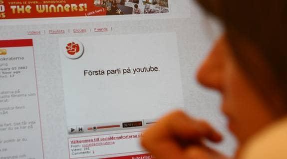 Sossarna först ut att använda sajten You Tube. Foto: JOHANNA SYRÉN