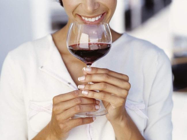 <span>Bara vin, och bara ett tillfälle per kväll är hemligheten.</span>