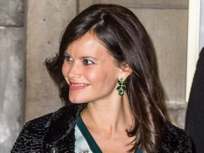 Prinsessan Sofia i LOB-frisyr.