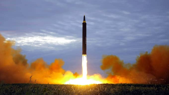 Nordkorea uppger att de genomfört flera missiltest. Foto: AP / AP TT NYHETSBYRÅN