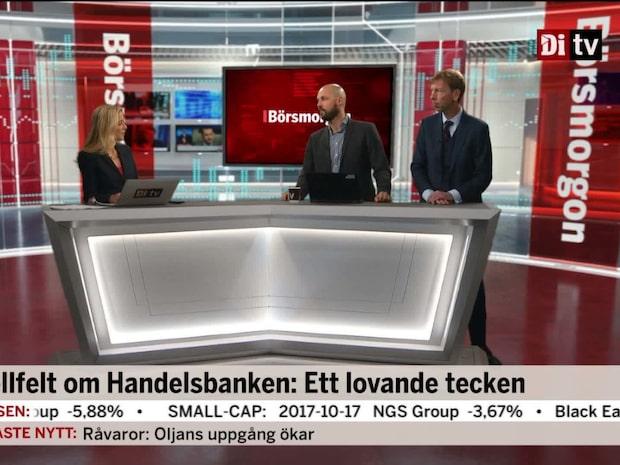 Wellfelt om Handelsbanken: Ett lovande tecken