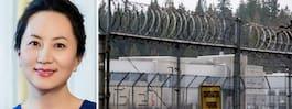 Huawei-chefen Meng Wanzhou har släppts mot borgen