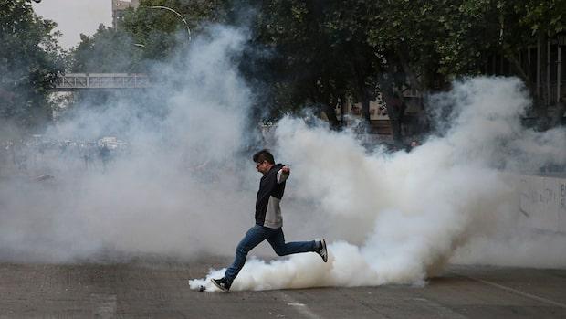 Tre döda i Chile efter tunnelbaneprotester