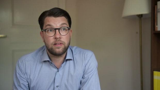 Åkesson: Det var mycket nära ett samarbete med Moderaterna