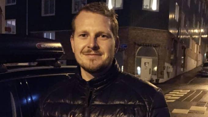 """""""Vi såg två killar komma utspringande ur butiken med vad som såg ut som en kniv"""", säger Anders Lundqvist som tog upp jakten på rånarna Foto: Andreas Andersson"""