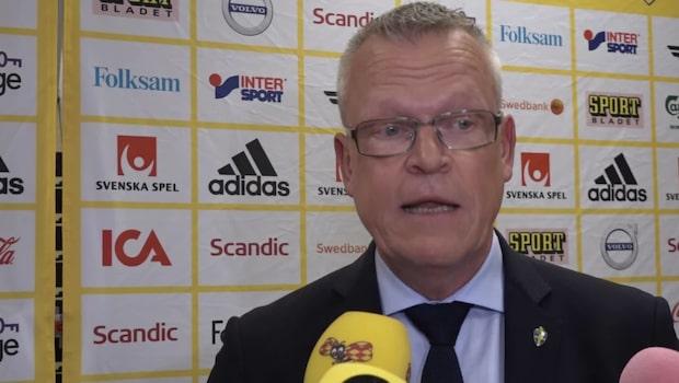 """Janne Andersson om uttagningsprocessen: """"Till slut blir det logiskt"""""""