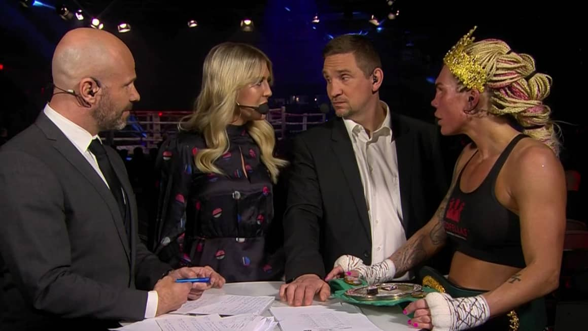Klara svensson forlorade titelmatch