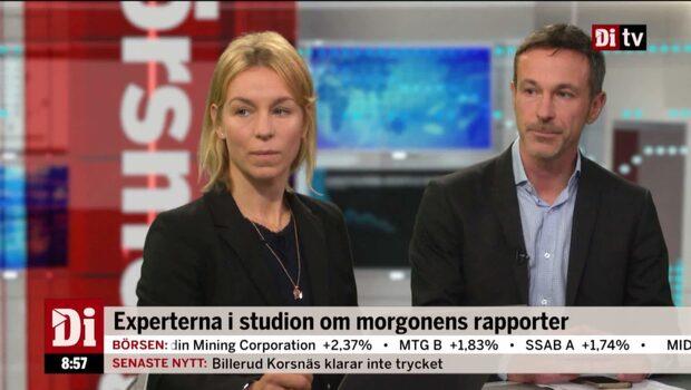 Experterna i studion om morgonens rapporter