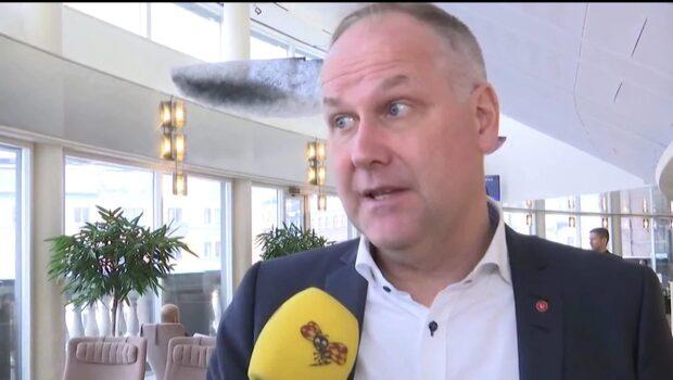 """Jonas Sjöstedt (V): """"SD har enorma problem"""""""