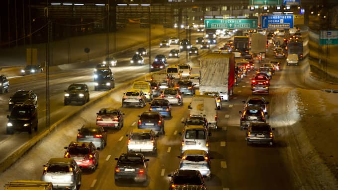 Flera vägar kommer att trafikeras hårt. Foto: Stefan Söderström