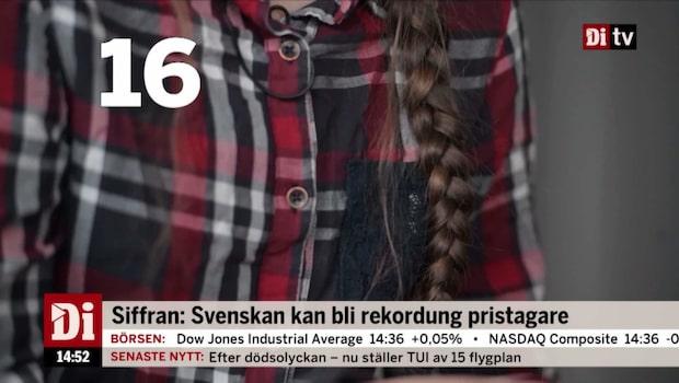 Dagens siffra: 16 och det är åldern på Greta Thunberg