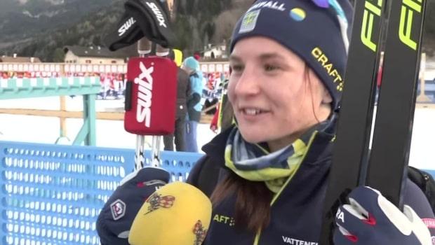 """Moa Molander Kristiansen: """"Lite sjukt är det"""""""