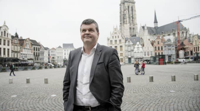 """Mechelens borgmästare Bart Somers är säker på att stadens lycka inte är en slump. Han förklarar vad staden har gjort rätt. """"Bland annat investerade jag massivt i polisen"""", säger han. Foto: Olle Sporrong"""