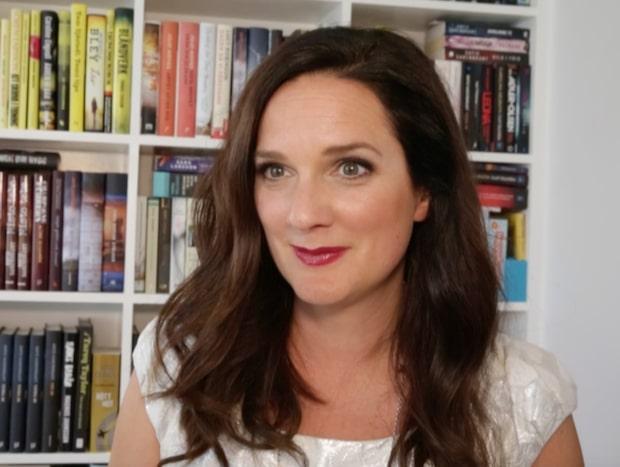 Sofie Sarenbrant om skrivandet: Terapi för att bearbeta rädslor