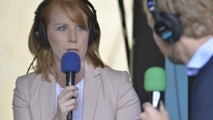 Annie Lööf har rivstartat Centerpartiets dag i Almedalen. Foto: Anna-Karin Nilsson