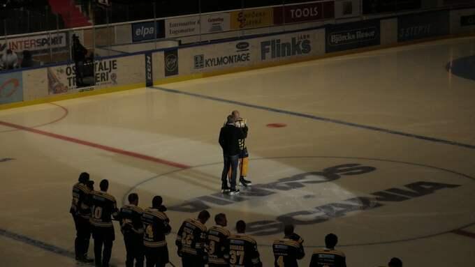 Grossmann presenteras i Södertälje. Foto: Läsarbild