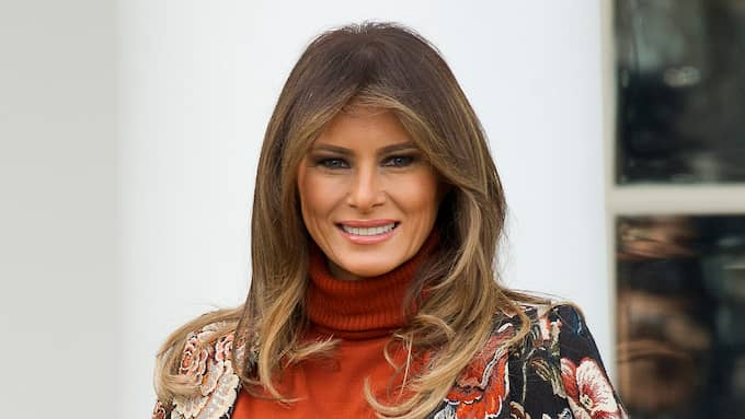 Melania Trump. Foto: RON SACHS / CNP / POLARIS POLARIS IMAGES